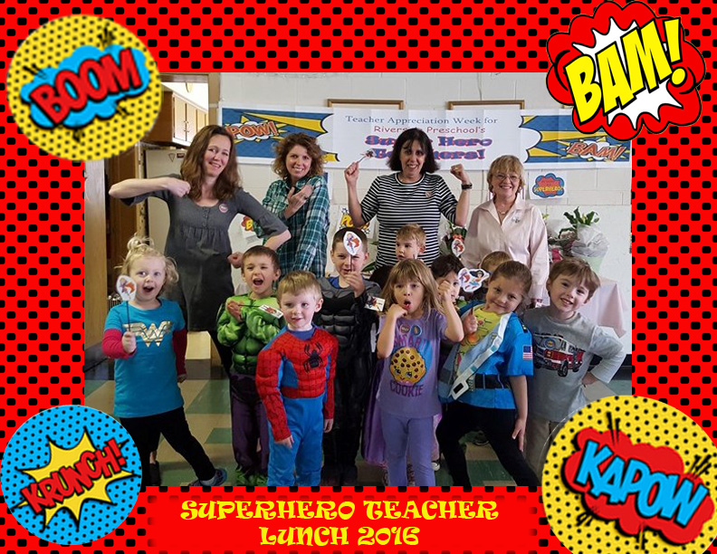 Super Hero Teacher Lunch