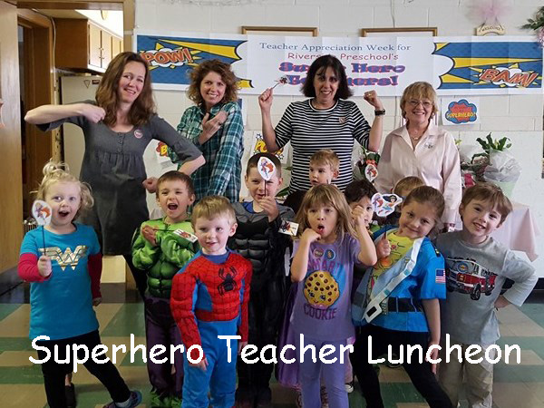 Superhero teacherscap